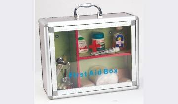 First Aid/Donation/Key Chain Box