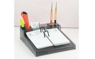 Desk Calendar Pallet Acrylic DCP Sheet With 2 Pen Holder