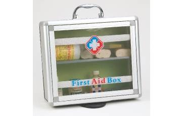 First Aid Box Small 218 9.5x11.5x4 Inch