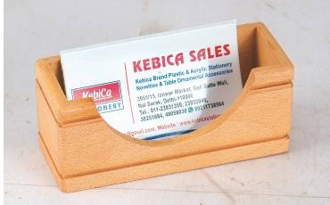VISTING CARD HOLDER STAND WOODEN VISITING CARD HOLDER SPECIAL FINE QUALITY WOOD
