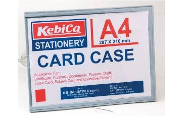 Appointment Photo Holder A-4 CARD ACRYLIC (21x39.7 CM)