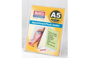 Appointment Photo Holder A-5 L SHAPE IM STAND (20.4x15.1 CM)6