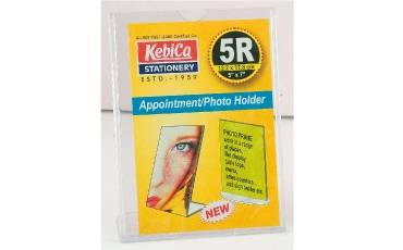 Appointment Photo Holder 5-R L SHAPE IM STAND (17.8x12.7 CM) 5
